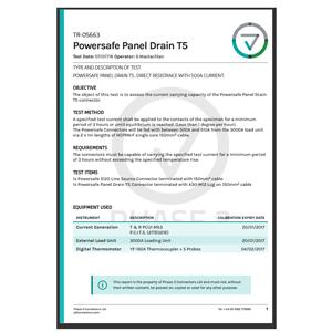 TR-05663 - Powersafe Panel Drain T5